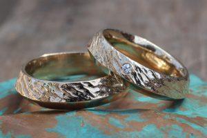 vielsesring, guld, guldring, ring