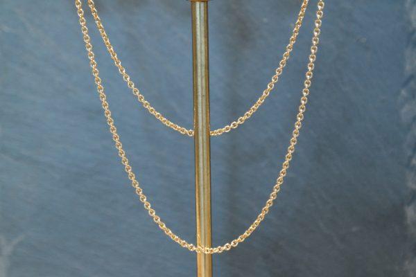 kæde, guld, sølv, hvidguld, rødguld, 14 karat