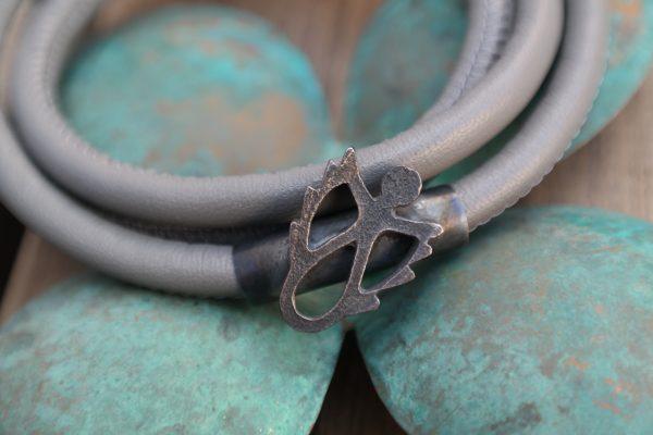 armbånd, sølv, guld, forgyldt, rhodineret, oxideret